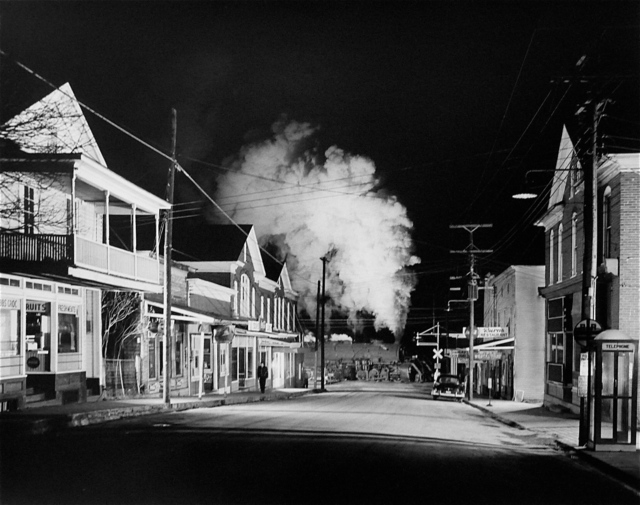 , 'Officer Painter Patrols Main Street, Stanley, Virginia,' 1956, Danziger Gallery