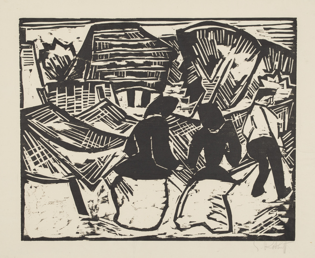 , 'Near the Fishing Nets,' 1914, Galerie St. Etienne