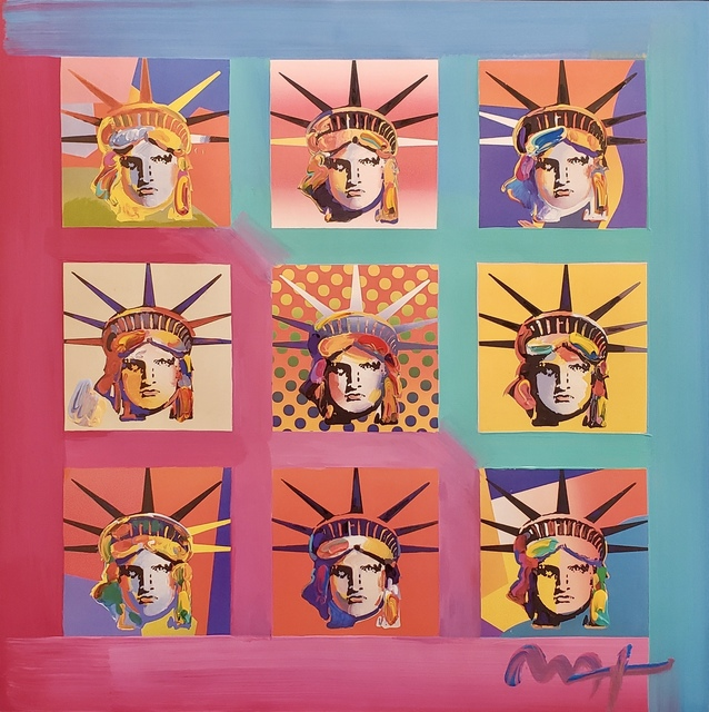 Peter Max, 'Nine Liberties ', 2007, Off The Wall Gallery