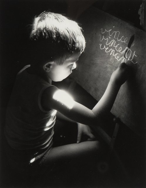 Willy Ronis, 'Vincent Writing at 5 Years Old', 1945, Heritage Auctions