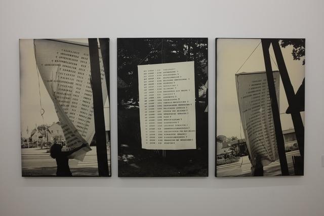 , 'Questions qui flottent dans l'air,' 1975, espaivisor - Galería Visor