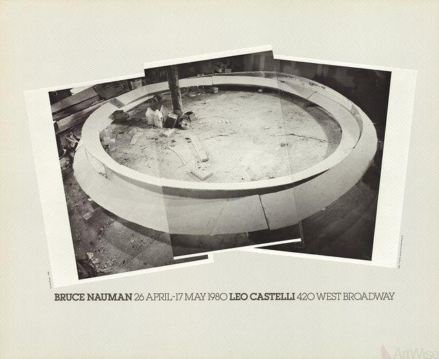 Bruce Nauman, 'Smoke Rings', 1980, Ephemera or Merchandise, Offset Lithograph, ArtWise