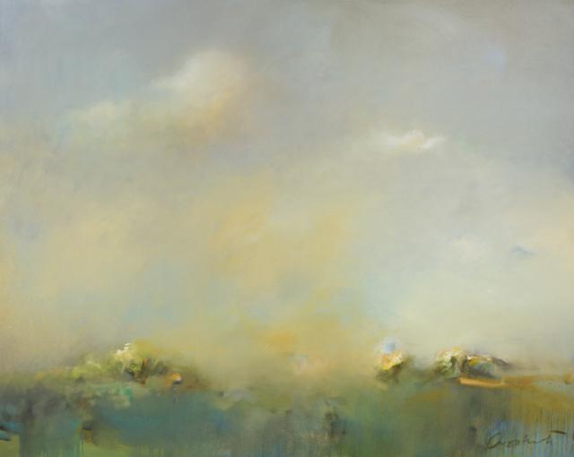 , 'Azul Horizon,' 2016, Merritt Gallery
