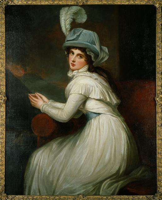George Romney, 'Lady Hamilton', 1791, Blanton Museum of Art