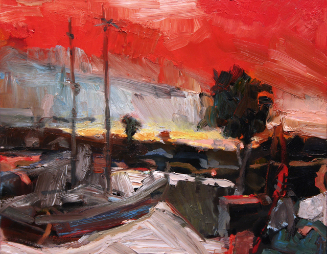 , 'Boat Yard,' , Wallace Galleries