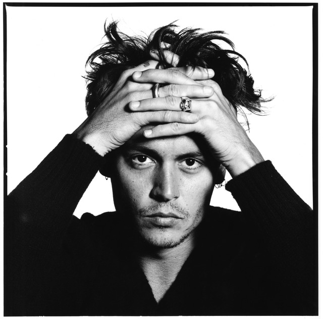 David Bailey, 'Johnny Depp', 1995, Padiglione d'Arte Contemporanea (PAC)