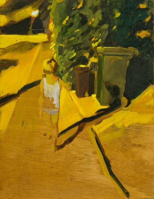 , 'Night walk 6,' 2013, Dvir Gallery