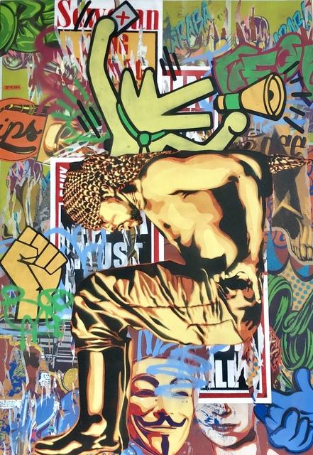 Khaya Witbooi, 'Podium', 2016, Gallery Victor Armendariz