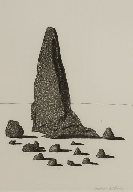 David Hockney, 'The Sexton Disquised as a Ghost Stood Still as Stone (Tokyo 87)', 1969, Sworders