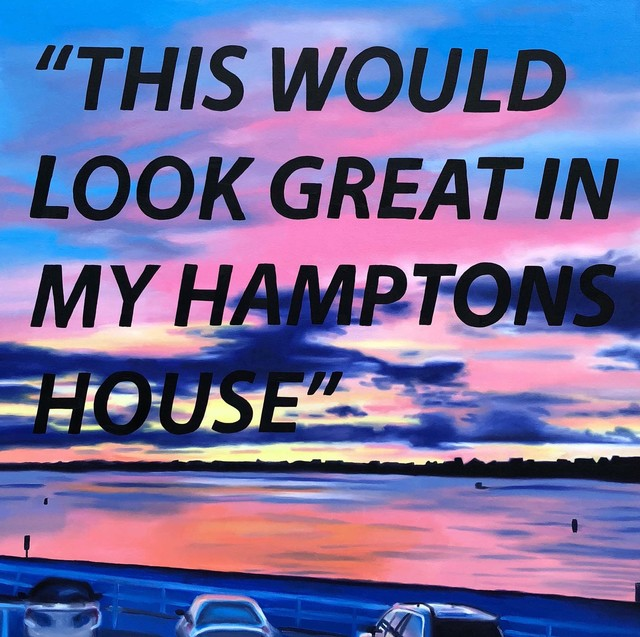 , 'This Would Look Great in my Hamptons House,' 2018, Roman Fine Art