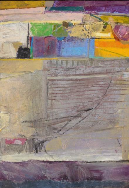 John Brown, 'Havana Balcony', ca. 2018, Painting, Acrylic and Collage, Tatha Gallery