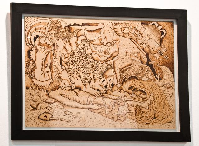 , 'Boceto de sin título,' 2014, Militantes