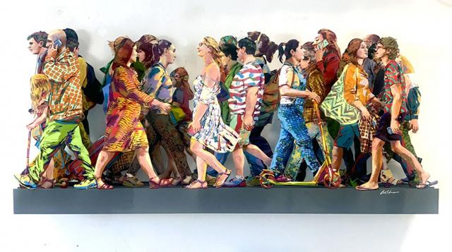 , 'Champs Elysees,' 2019, Galerie Duret