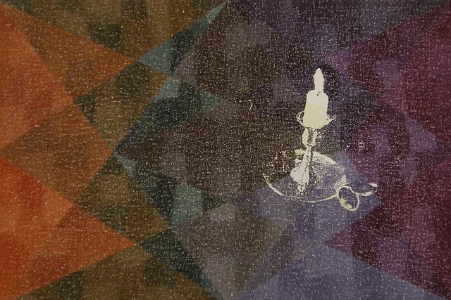 , 'Static Image Painting/Orange/Candle/Medicine Hat,' 2007, Wilding Cran Gallery