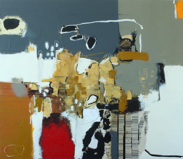 , 'Matières en mouvement 8,' 2017, Galerie de Bellefeuille