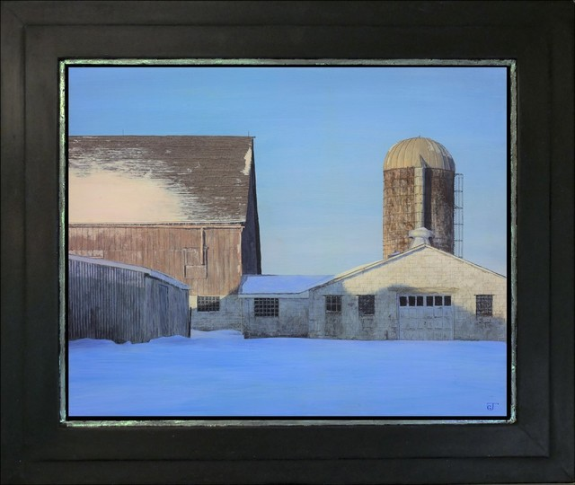 Jeff Gola, 'Snowbound Yard, Kirby Farm', 2018, ARCADIA CONTEMPORARY