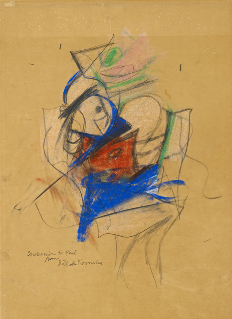 , 'Untitled (Woman),' 1950-1953, DICKINSON
