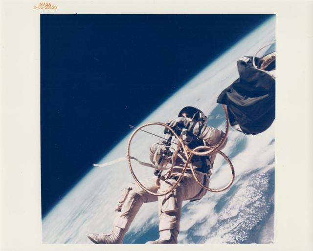 , 'Ed White walking in space over southern California, Gemini 4, June 1965,' , Attollo Art