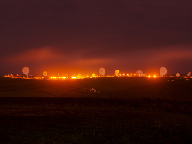 Trevor Paglen, 'NSA/GCHQ Surveillance Base, Bude, Cornwall, UK', 2014, Altman Siegel