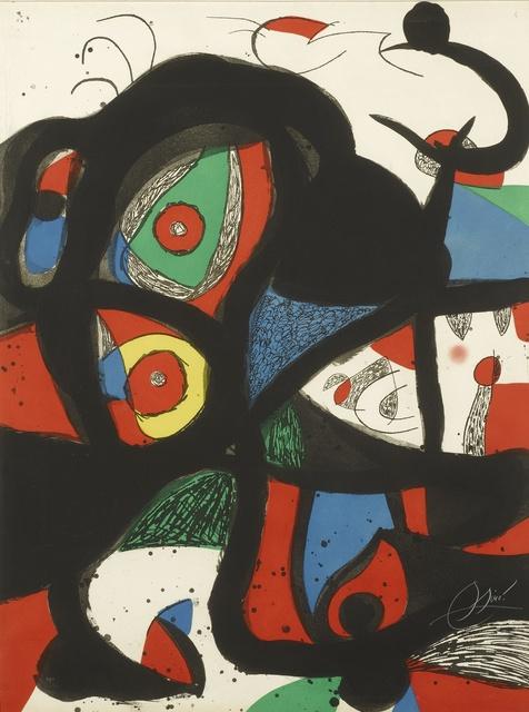 Joan Miró, 'Gargantua (D. 972)', 1977, Sotheby's