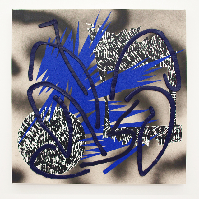 , 'Through Blue,' 2016, Denny Gallery