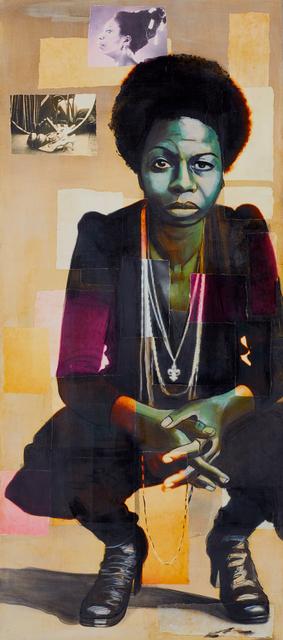 ", '""Nina Simone"",' 2018, Novado Gallery"