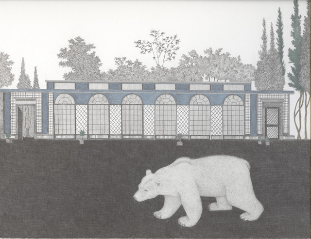 , 'Polar Bear at the Greenhouse,' 2012, Wilding Cran Gallery
