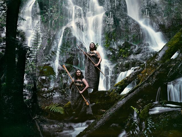 , 'IX 134 Noel Pearse & Dominique Pere Huka Falls, North Island New Zealand - Maori, New Zealand,' 2011, WILLAS Contemporary