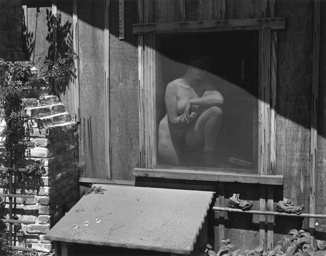 Edward Weston, 'Nude Behind Screen (Charis)', 1943, Photography West Gallery