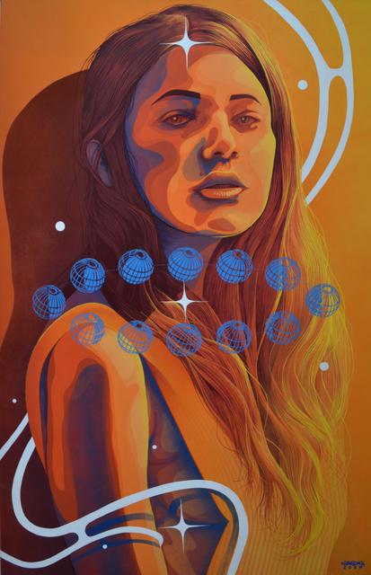 , 'Les étoiles se sont alignées au fil du temps,' 2017, Ground Effect Gallery