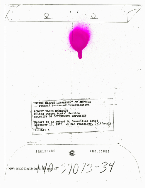 , 'My Father's FBI File: Government Employees,' 2017, Nome