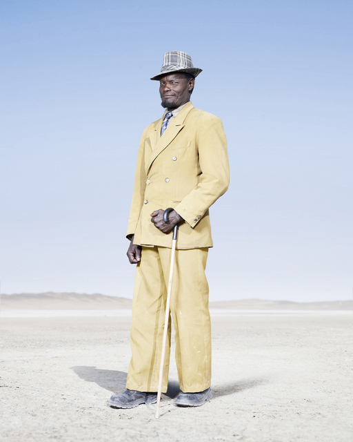 , 'Herero Man in Yellow Suit,' 2012, KLOMPCHING GALLERY