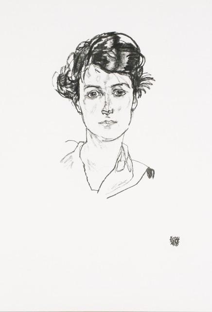 , 'Portrait of a Young Woman [Handzeichnungen],' 1920, Jason Jacques Gallery