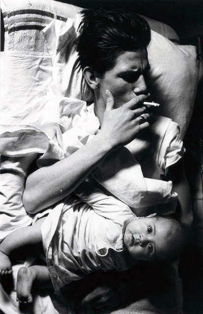 "Larry Clark, 'Billy with Baby (from the series ""Tulsa"")', 1963/1981, ClampArt"
