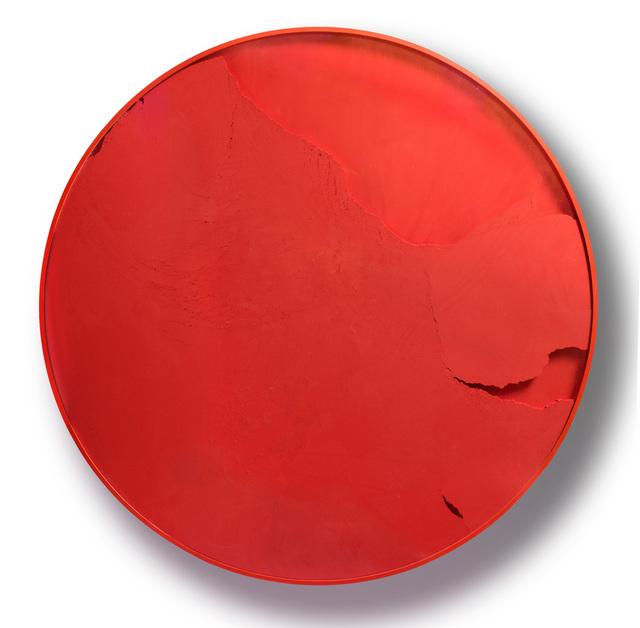 , 'Cercle rouge Vermillon Manuchrome Primaire,' 2015, Espace Meyer Zafra