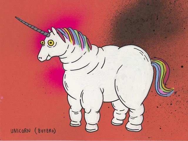 , 'Unicorn ( Botero ),' 2017, MARTINA'S GALLERY