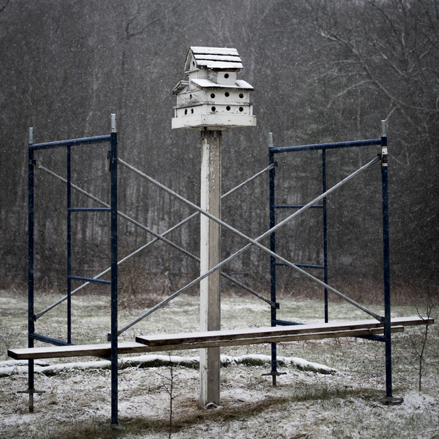 , 'The Bird House in Snow,' 2016, Kopeikin Gallery