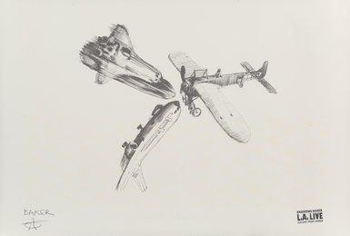 Airplanes (LA Live Print)