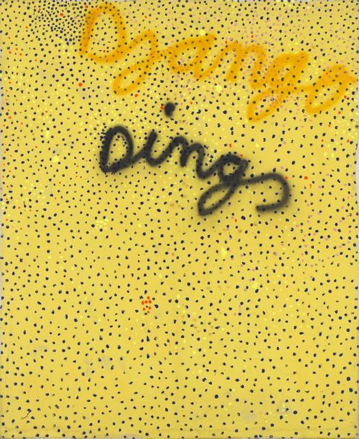 , 'Dings Gelb,' 1980, Galerie Michael Haas