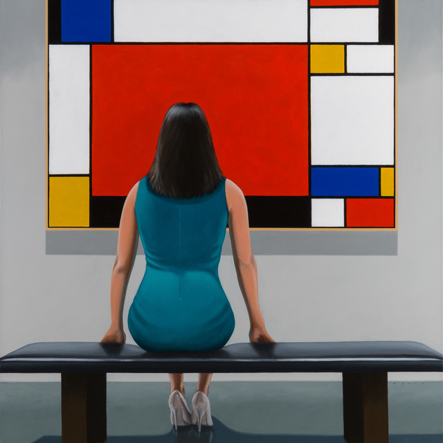 , 'Mondrian Red,' 2017, CK Contemporary