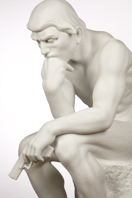 , 'The Thinker,' 2012, Madison Gallery