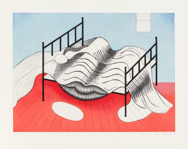 Louise Bourgeois, 'Le Lit Gros Edredon (with lips)', 1997, Heritage Auctions