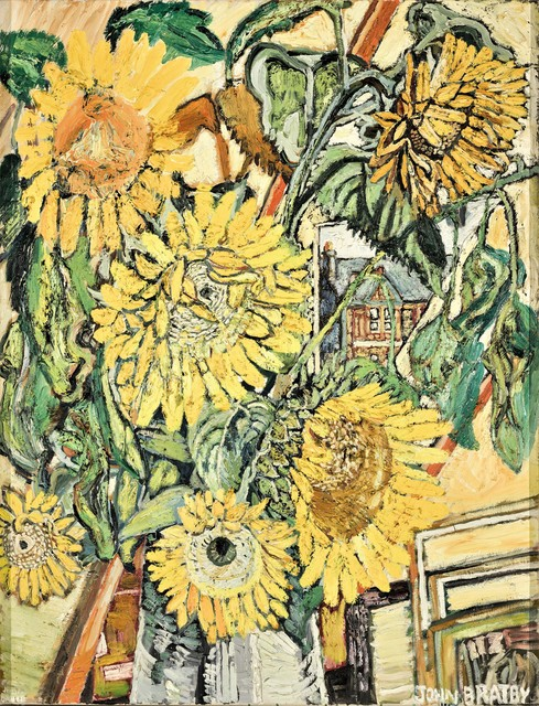 , 'Sunflowers,' 196768, Goodman Fine Art