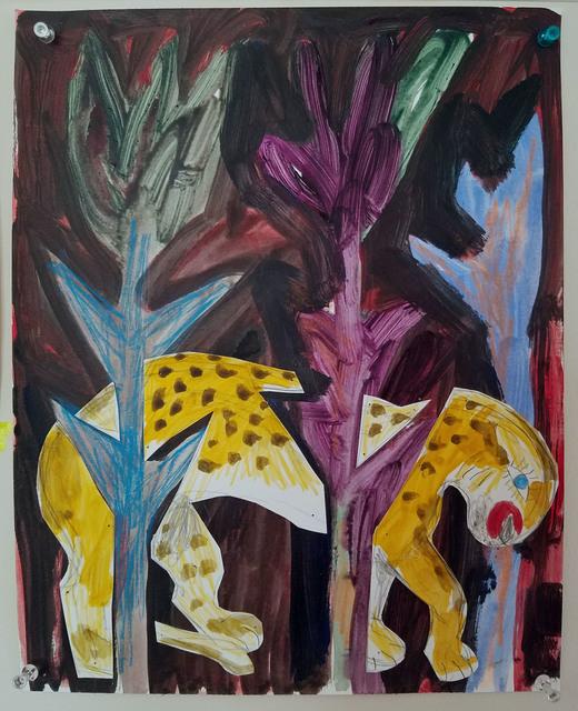 , 'Peaceable Kingdom, leopard,' 2016, Nathalie Karg Gallery