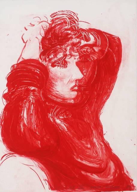 David Hockney, 'Red Celia', 1984, Gregg Shienbaum Fine Art
