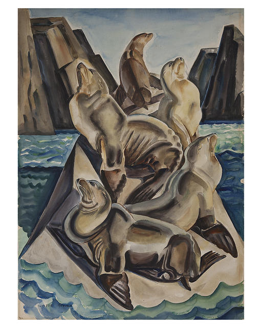 , 'Sea Lions,' 1937, Cade Tompkins Projects