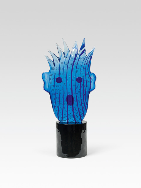, 'Blue Striped Head,' 1994, Galerie Kovacek & Zetter