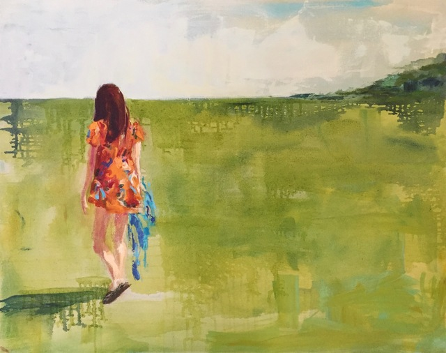 , 'Katie Continued Walking - Fergus,' 2018, parts gallery