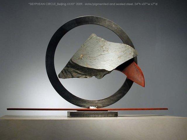 John Van Alstine, 'Sisyphean Circle Beijing 32', Isabella Garrucho Fine Art