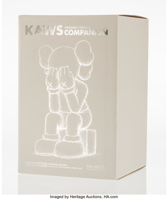 KAWS, 'Passing Through Companion (Grey)', 2013, Heritage Auctions